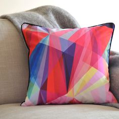 Fragmented Cushion - Digitally Printed Cushion Cover