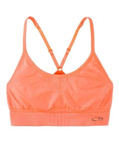 The Best Sports Bras: Best for Low Impact  C9 by Champion Women's Seamless Cami Bra Despite its barely there seamless design, this style offers considerable support (and looks cute peeking out from a tank). Thin racer-back straps are adjustable for fit, and the stretch-nylon fabric is both comfortable and breathable. Available in seven colors, and up to size XXL.  To buy: $12, target.com.