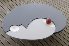Low Table - Planacryl | ©Nicolas Meyrat