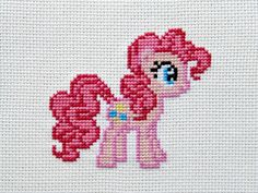 Pinkie Pie Cross Stitching Pattern