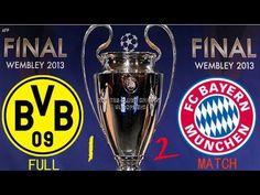 Das deutsche Finale in Wembley:  2013 Bayern München- Bor.Dortmund