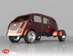 Vintage Sci Fi Car   3D Models and 3D Software by Daz 3D