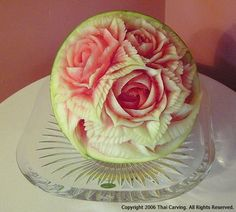 Gallery8-thai carving (fruit/veg.) More Pins Like This At FOSTERGINGER @ Pinterest