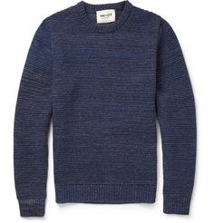 NN.07 Toby Ribbed-Knit Wool-Blend Sweater | MR PORTER