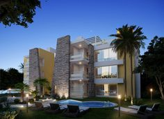 Pam Chel Real Estate houses for sale. A brand new project in Playa del Carmen is a good option to buy a property and invest in Real Estate. #PlayadelCarmen #RealEstate