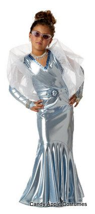 Childs Glamorous Movie Star Costume Candy Apple Costumes