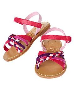 Braided Strap Sandal Size 4