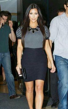 Kim Kardashian dress ❤ ❤