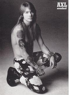 Axl Rose - Guns'N'Roses