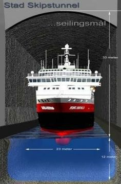 Norway plans world's first ship tunnel | Construction News | The Construction Index
