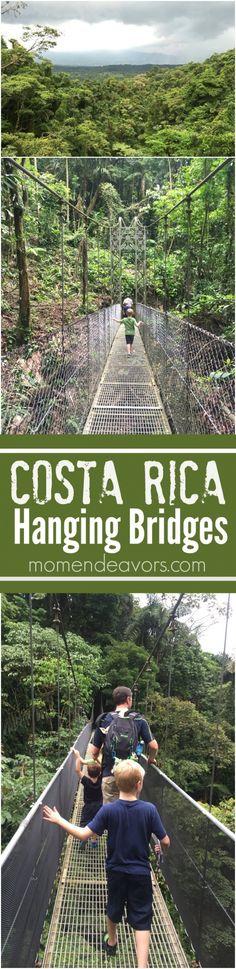 Costa Rica Hanging Bridges