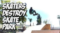 SKATERS DESTROY AMAZING SKATE PARK !!! – A DAY WITH NKA – – Nka Vids Skateboarding: Source: nigel alexander