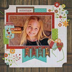 @Liz Qualman for My Little Sketch Blook: NEW Simple Stories Harvest Lane Collection