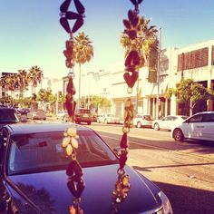 Taking the Lulu Frost Full Psyche Power Necklace on a Beverly Hills (window) shopping spree! - Photo by @Jetworthy via Instagram