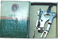 Zig Zag attachment for the Singer Featherweight 221 Sewing Machine