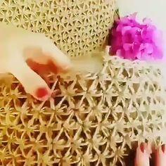 Crochet Tutorial Free Patterns For Downl Crochet - Diy Crafts Crochet Motifs, Crochet Stitches Patterns, Crochet Designs, Knitting Patterns, Embroidery Patterns, Blanket Patterns, Embroidery Stitches, Hand Embroidery, Machine Embroidery