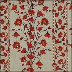 Red Larissa from Aleta #fabric #red