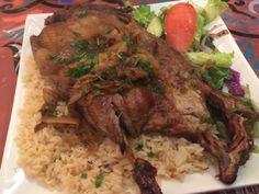 Chef Samir Shaltout's Duck