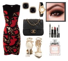 Femenina by solbranca on Polyvore featuring polyvore fashion style Kenzo Wild Diva Chanel Fragments Cartier Christian Dior Lord & Berry clothing