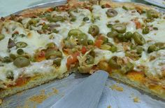 Pizza de liquidificador (atum)