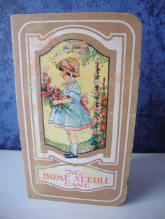 Vintage Sewing Needle Card