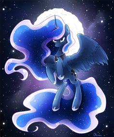 Princess of the night by Otkurzacz My Little Pony Comic, My Little Pony Drawing, My Little Pony Pictures, Princesa Celestia, Celestia And Luna, Unicornios Wallpaper, Princess Twilight Sparkle, Nightmare Moon, Little Poni