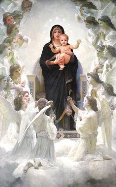 Holy Mary, Sacred Art, Favorite Things, Pictures, Healing, Painting, Truths, Dios, Good Night Greetings