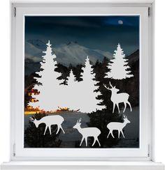 MERRY CHRISTMAS!  cuadros lifestyle Fensterfolien - für eine individuelle Glasgestaltung der besonderen Art.