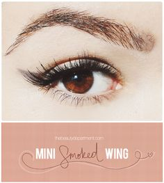 TUTORIAL + PHOTOGRAPHY BY AMY NADINE, GRAPHIC DESIGN BY EUNICE CHUN  Sometimes a little smoked wing is...