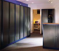 armarios metlicos bisley de oficina para archivo y carpetas