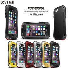 2014新新登場!! 超人気◆ iPhone6 4.7◆耐衝撃、防塵、機械的、LOVE MEI iPhone6専用三防ケースPOEERFUL スマートフォン最強ケース バットマン金属ケースアルミケース メタルケース:楽天