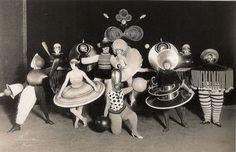 Bauhaus costume party   c. 1920s