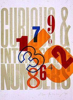 Alan Kitching - beautiful typography wonderful-ness