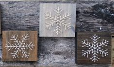 38 Ideas For Diy Christmas Decorations To Sell String Art Woodworking School, Learn Woodworking, Christmas Crafts, Christmas Decorations, Holiday Decor, Christmas Ideas, Craft Projects For Adults, Craft Ideas, Snow Flakes Diy