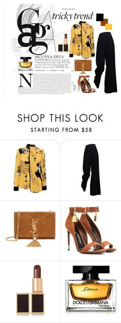 """""""Untitled #18"""" by stylezbyniah on Polyvore featuring Victoria, Victoria Beckham, The Row, Yves Saint Laurent, Tom Ford, Dolce&Gabbana, women's clothing, women's fashion, women, female and woman"""
