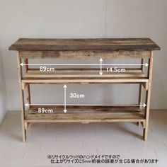 Ikea Furniture Hacks, Cute Furniture, Pallet Furniture, Diy Pallet Projects, Home Projects, Wood Valance, Wood Pallets, Wood Crafts, Entryway Tables