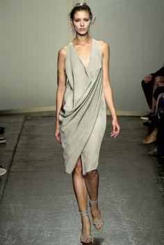 Donna Karan Ready-to-Wear S/S 2013