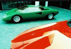 Lamborghini Countach LP400 1972 by Bertone   Modern Design