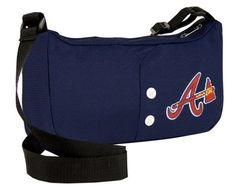 MLB Atlanta Braves Jersey Purse by Little Earth. $18.89. One officially-licensed purse fashionably mimics the look of an authentic MLB jersey. 100% Polyester. Made from authentic MLB-style jersey material and featuring your favorite team's logo and jersey-like buttons. Fully lined with an interior patch pocket and a zipper closure to safely store your belongings. Chic handbag shape creates a functional and fashionable purse. Adjustable strap can be worn at a drop length ...