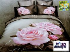 Pink rose bedding sets bed set cotton fabrics home textile green bed linens king queen size economic beding set 2900 Pink Bedding Set, 3d Bedding Sets, Floral Bedding, Bedding Sets Online, Queen Bedding Sets, Comforter Sets, Denim Comforter, Rose Comforter, Bedroom Comforters