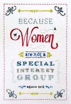 because women are not a special interest group