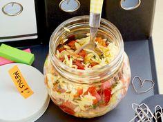 Büro-Snacks für köstliche Pausen - mittagspasta-des-monats  Rezept