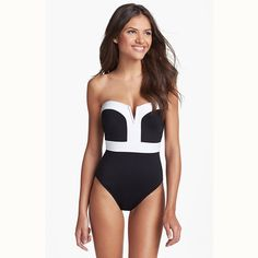 NEW ARRIVAL! Women Black And W....Get it while it's hot! New to the store,http://voguebands.com/products/women-black-and-white-one-piece-swimsuit-strap-padded-swim-suits-bathing-suit-beachwear-plus-size-swimwear?utm_campaign=social_autopilot&utm_source=pin&utm_medium=pin