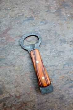 Forged Bottle Opener  Berry Knife and Tool