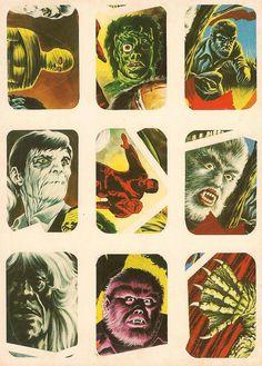 Horror Movie Stickers - 8 by Aeron Alfrey, via Flickr