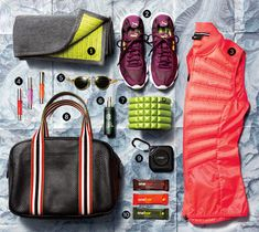 Portable Essentials That Will All Fit in Your Gym Bag | Yes, you really can have it all—in your carry-on, that is—with these packable, portable essentials.