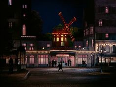 French Cancan (Jean Renoir, 1954)    Production Design by Max Douy  #cinearchitecture #ehsankhoshbakht