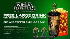 CINEPLEX - NS NB PE NF ONLY - Free Large Drink with purchase of Large Popcorn http://www.lavahotdeals.com/ca/cheap/cineplex-ns-nb-pe-nf-free-large-drink/95521