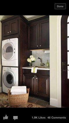 Dreamy Laundry Room