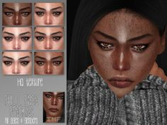 The Sims 4 mody do gry: Piegi pełnotwarzowe MFW od IzzieMcFire Sims 4 Cc Skin, Sims Cc, The Sims 4 Pc, Sims 4 Cc Kids Clothing, Best Sims, Sims 4 Characters, The Sims 4 Download, Sims 4 Game, Sims 4 Cc Finds